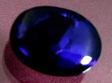 Top Quality Dark Purple Blue Color Pattern Natural Solid Black Opal  3.38 carat.