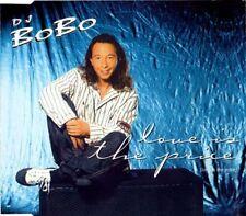 DJ BOBO Love is the Price 5TRX REMIXES & UNRELEASED CD