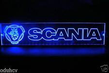 12V LED Innen Cabin Leuchtschild Scania LKW Neon beleuchteter Tisch Schilder 500