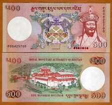Bhutan,  Kingdom, 500 Ngultum, 2011, P-41, UNC