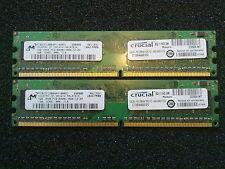 2x1GB = 2GB DDR2 Desktop Memory / PC2-6400U 800 Mhz  / NON-ECC RAM Unbuffered