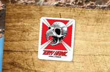 Lot of 2 Pieces POWELL PERALTA Tony Hawk Iron Cross Skateboard Vinyl Stickers