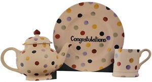 Emma Bridgewater Large Cut Out Polka Dot Congratulations Card