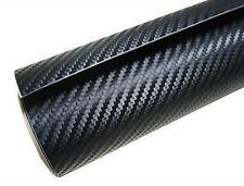 3D CARBON FIBRE AUTO VINYL WRAP MATT BLACK 3 X 1.52 METERS
