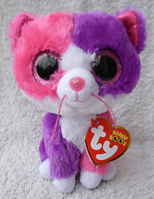 """Rare Ty Beanie Boos/Boo Soft Plush Toy Pellie Cat Claires Exclusive MWMT MINT 6"""""""