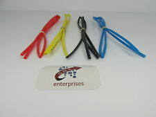 4 x 1 meter lenghts 3mm heat shrink  red .yellow.blue.black  heat shrink tubing