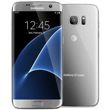 Unlocked Samsung Galaxy S7 edge SM-G935A 32GB - Silver Titanium (AT&T) Phone