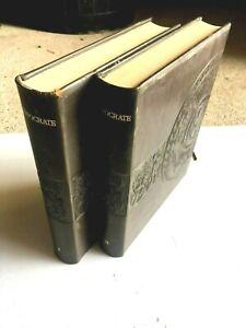 (n°6) ANCIEN livre, HIPPOCRATE :  DE JEAN CHIEZE  (2 volumes)