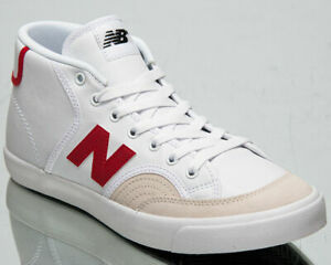 New Balance Numeric 213 Men's White Red Lifestyle Shoes Casual Athletic Sneakers