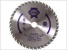 Faithfull - Circular Saw Blade 250 x 30mm x 40T Anti Kick