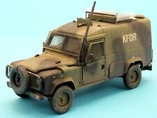1/35th Accurate Armour British Land Rover CAV100 Snatch Balkans