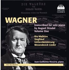Juan Guillermo Vizca - Wagner Transcribed for Solo Piano By Stradal 1 [New CD]