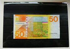 Banknote Niederlande/ Holland, selten & feine 50 Gulden 1982, Sunflower EF