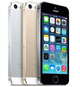 Apple iPhone 5s 16-32-64GB Factory Unlocked 4G LTE Smartphone Grade B