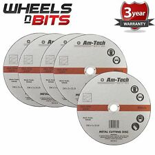 5x New 9 Inch Angle Grinder Cutting Disc for Metal 230mm x 3mm x 22.23mm