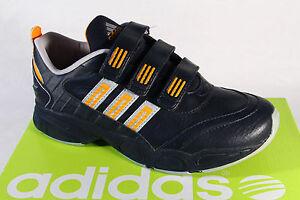 Adidas Zapatillas de Deporte Footing Ronda Negro/Naranja Nuevo