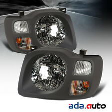 For 2002-2004 Nissan Xterra (XE Model) Left Right Side Headlights Front Lamps