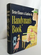 Vintage 1957 Better Homes and Gardens Ring Binder Handyman's Book Mid Century
