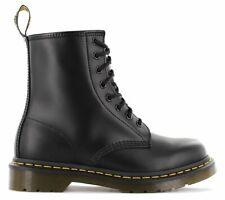 Dr. Martens 1460 Unisex Boots - Black Smooth, 12 US Women/11 US Men