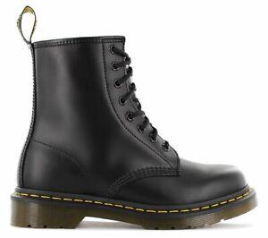 DR. DOC MARTENS 1460 Smooth Boots Stiefel 11822006 Leder Schwarz Black 8-Loch