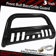Black Brush Push Front Bumper Grille Guard Bull Bar For 1994-2001 Dodge Ram 1500