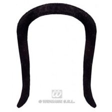 Moustache Chinese Adhesive - Black Disguise Novelty Fake False Moustaches -