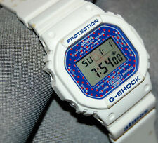 RARE! G-Shock DW-5600E-1 Atmos Limited Edition Blue polka-dotted Face New Batt!