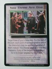 1999 Babylon 5 Ccg - Severed Dreams - Rare Card - You Three Are One
