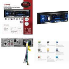 Single Din Boss Usb Car Sd Audio Stereo Bluetooth Receiver Aux Radio Mp3 Cd