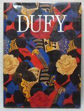 Dufy. Dora Perez-Tibi. French Artist. 1989 1st Edition. H/B. 379 Illustrations.