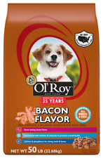 Ol' Roy Bacon Flavor Dry Dog Food, 50 Lb