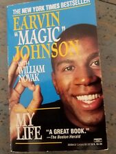"MAGIC JOHNSON AUTOGRAPHED BOOK, SIGNED Book ""MY LIFE"""