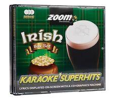 Zoom Karaoke CD+G - Irish Superhits - Triple CD+G Karaoke Disc Pack Ireland