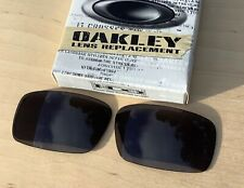 NWOT Oakley Crankshaft Sunglasses Lens Authentic Oakley Grey Lens