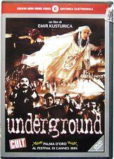 Dvd Underground (CGH) di Emir Kusturica 1995 Usato raro ed. fuori cat.