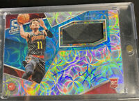 2018-2019 Trae Young Panini Spectra RC AUTO PATCH /99 Rookie RPA Atlanta Hawks