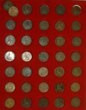 More details for halfpennies 1/2d victoria young head selected mostly vf or better: see menu