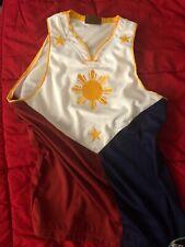 Filipino Manny Pacquiao Number 8 Flag Basketball Jersey Size Medium