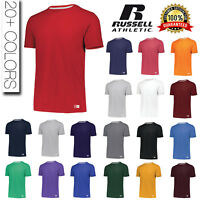 Russell Athletic Mens Dri-Power Essential Blend Sports T-Shirt S-2XL Tee 64STTM