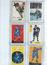 Parkhurst 2001-02 Reprints Six Tim Horton cds 067 075 103 113 119 127 Nm/Mt