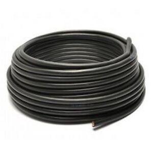 H05VV-F Cable Similgomma 2X0, 75 Black