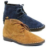 Kids Boys Suede Desert Dealer Ankle Boots Lace Up Size Infant 6 7 8 9 10 11 12+