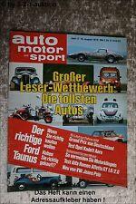 AMS Auto Motor Sport 17/76 Opel Kadett Aero Alfa Romeo GTV Sportster XLH