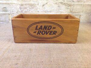 Retro Vintage Rustic Style Landrover Storage Box Crate
