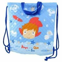 Marushin knapsack Ghibli Ponyo on the Cliff by the Sea about H35 × W35cm sw