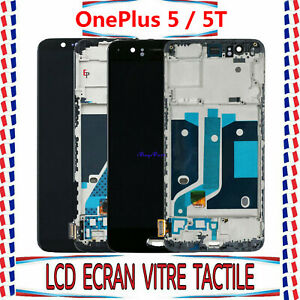 Complet Pour OnePlus A5000 / 1+ 5t A5010 LCD Ecran Vitre Tactile Display + Cadre