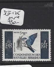 NEW HEBRIDES FRENCH   (PP1208B)  SG 125  5  FR BIRD   MNH