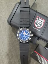 Luminox Men's Navy SEAL Watch Blue Dial Black Strap 3003
