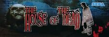 House of the dead Video Game Marquee High Quality Metal Magnet 2 x 6 inches 9154