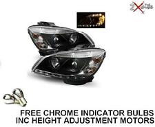MERCEDES CLASE C W204 2007-2011 Negro LED DRL Daylight luces de marcha faros